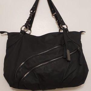🌸 Hilary Radly Gun Metal Grey Silver Clasps Bag